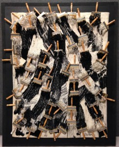 Fernandez Arman. Tapisserie. 1989. cm 250 x 200