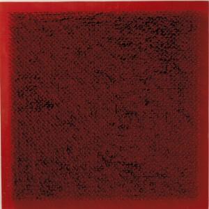 Bernard Aubertin.Tableau Clous.1969.cm 50 x 50.chiodi su tavola