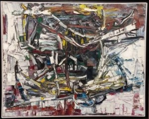 Jean Paul Riopelle.senza titolo.1964.cm 73x92.olio su tela